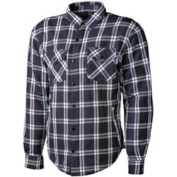 GC Bikewear Ranger, Hemd - Schwarz/Weiß - M