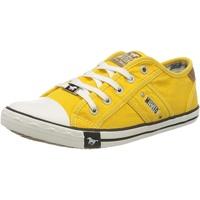 MUSTANG Damen 1099-302-6 Sneaker, Gelb (Gelb 6), 38 EU