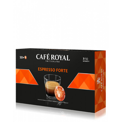 Cafe Royal ESPRESSO FORTE PADS FÜR NESPRESSO PRO 50STK