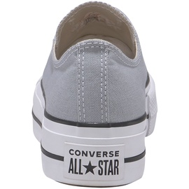 Converse Chuck Taylor All Star Platform Seasonal Low Top wolf grey/white/black 36