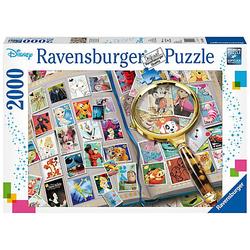 Puzzle 2000 Teile, 98x75 cm, Meine liebsten Briefmarken