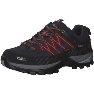 CMP Damen Trekking Schuhe Rigel Low 3Q13246 Antracite-Red Fluo 38