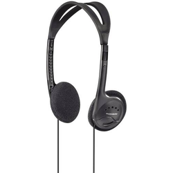 Thomson HED1115BK On Ear Kopfhörer On Ear Leichtbügel Schwarz