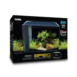 Fluval SPEC XV Aquarium 60 L, 56 x 45 x 29 cm, schwarz