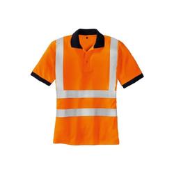 Warnschutz-Poloshirt »SYLT« Größe L orange, teXXor