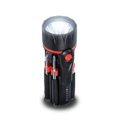 Universal 9 1 Multifunktion Schraubendreher-Set Multifunktions Werkzeug mit LED Taschenlampe