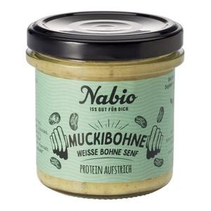 Nabio Protein Aufstrich - Weisse Bohne + Senf bio