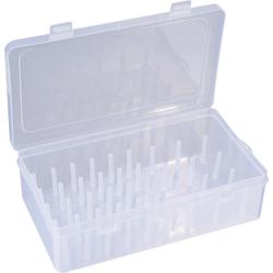 VBS Aufbewahrungsbox, Kunststoff, für 42 Spulen