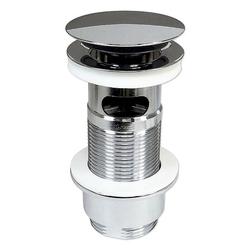 POP UP Ablaufgarnitur für Waschbecken - mit Überlauf - Länge 90 mm