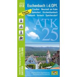 Eschenbach in der Oberpfalz 1 : 25 000