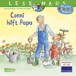 CARLSEN Lesemaus 191: Conni hilft Papa