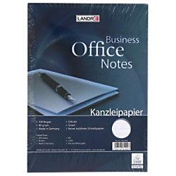 LANDRÉ A4 liniertes Kanzleipapier A4 80 g/m² Weiß 500 Blatt