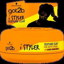 got2b i Styler Texture Clay Halt 4 matt Style mittlerer Halt 75ml