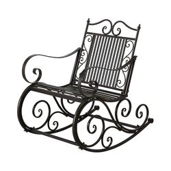 BOLTZE Gartenstuhl Metall-Schaukelstuhl