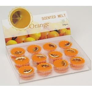 Wurm Duftwachs für Duftlampen 15 g - Orange