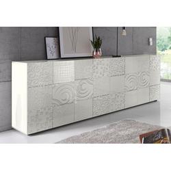 LC Sideboard Miro, Breite 241 cm mit dekorativem Siebdruck