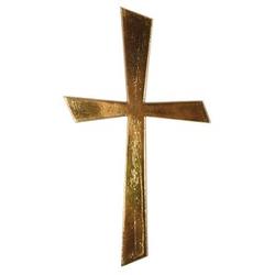 Rayher Wachsmotiv Kreuz gold 1 St.