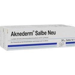 AKNEDERM Salbe Neu 60 g
