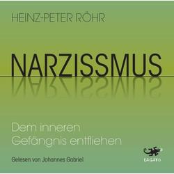 Narzissmus als Hörbuch CD von Heinz-Peter Röhr