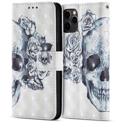 3D Tasche für iPhone 11 Pro Max - Totenkopf