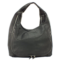 Eastline Handtasche, Leder schwarz