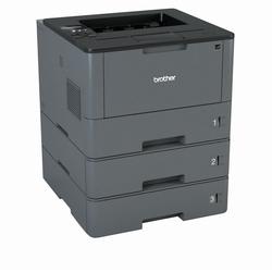 Brother Laserdrucker mit 3 abschließbaren Papierkassetten Laserdrucker, (LAN (Ethernet)