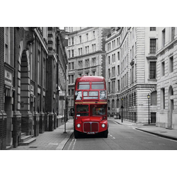 Papermoon Fototapete London, glatt 2,5 m x 1,86 m