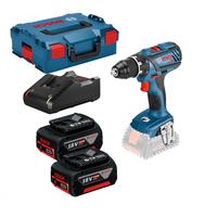Bosch GSR 18V-28 Professional inkl. 2 x 4,0 Ah + L-Boxx (0615990K3S)