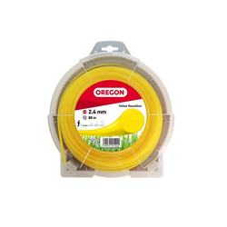 Oregon Akku-Motorsense OREGON Freischneidefaden Gelb Roundline 2,0 mm x, 0,02 cm Arbeitsbreite Faden