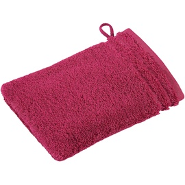 VOSSEN Calypso Feeling Waschhandschuh 16 x 22 cm cranberry