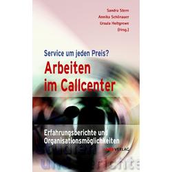 Arbeiten im Callcenter als Buch von