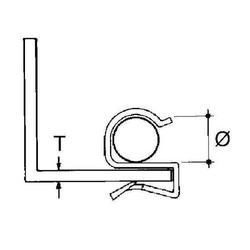 Niedax Kabelbefestigung ECS-89