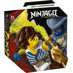 LEGO® Puzzle LEGO® NINJAGO 71732 Battle Set: Jay vs. Serpentine, Puzzleteile