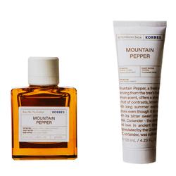 Korres Montain Pepper Eau de Toilette + Aftershave