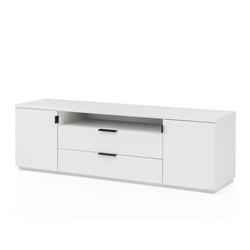 expendio TV-Board Mutina 6, weiß 170x55x45 cm mit viel Stauraum