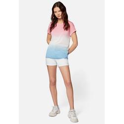 Mavi T-Shirt TIE DYE TOP Buntes Shirt gelb S