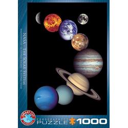 Eurographics 6000-0100 - NASA Sonnensystem, Puzzle