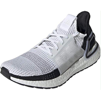 adidas Ultraboost 19 white-black/ white, 45