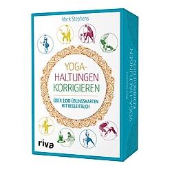 Yoga-Haltungen korrigieren, Übungskarten mit Begleitbuch