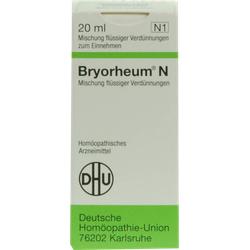 BRYORHEUM N Mischung 20 ml