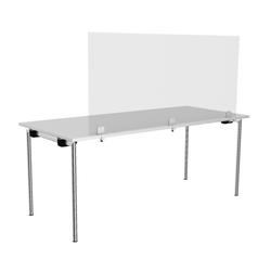 Rosconi T2 Tisch-Trennwand Breite 150 cm - Virenschutz Spuck & Niesschutz Sch...