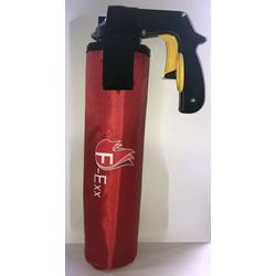 F-Exx Schaum-Feuerlöscher Kfz-Halter Stofftasche mit Kletthalterung für