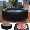 Whirlpool HWC-E32, 4 Personen In-/Outdoor heizbar aufblasbar Ø 180cm FI-Schalter