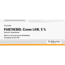 PANTHENOL Creme LAW 25 g