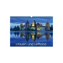 Litauen und Lettland (Wandkalender 2021 DIN A3 quer)