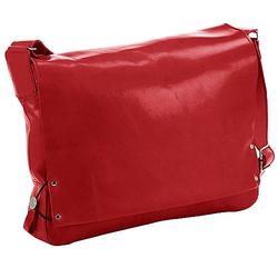 Harolds Jil Kuriertasche aus Leder  36 cm - rot
