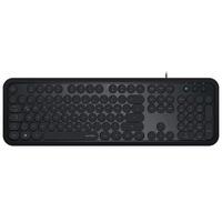 SPEEDLINK Circle Retro Tastatur DE schwarz (SL-640004-BK)