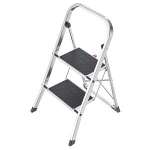 5five Simple Smart Treppe Plattform klappbar mit Griff silberfarben Metall