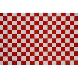 Oracover 48-010-023-010 Klebefolie Orastick Fun 4 (L x B) 10m x 60cm Weiß, Rot