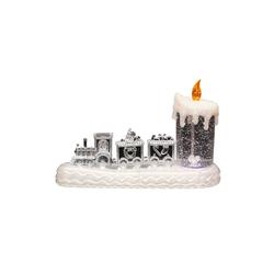 SIGRO LED-Kerze LED Zug mit Kerze
